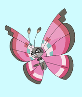 Vivillon Base by michy123