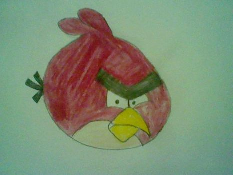 Angry Birds Red one by Bitmask15