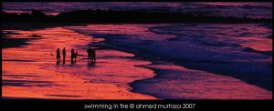 Swimming In Fire by mentallydeceased