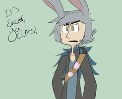RotG - HUMAN BUNNYMUND YAY by jaylord-the-idiot