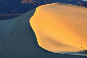 mesquite sand dunes shadow death valley by yo13dawg
