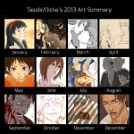 2013 Art Summary by tasobi