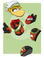 Trainer Rayman Would Like to Battle! by RadiantHearts