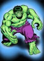 Classic Sal Buscema Hulk by Simon-Williams-Art