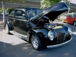1940 Ford mild custom Tudor sedan by RoadTripDog