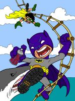 Shark Repellent Bat-Spray by beastgrinder