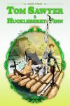 Tom Sawyer and Huckleberry Finn Storybook Cover by FREEdige
