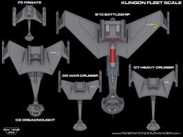 Klingon Fleet Scale Top by Adam-Turner