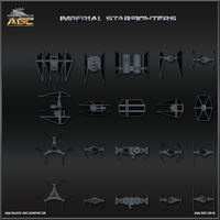 Imperial Starfighter Sheet by Majestic-MSFC