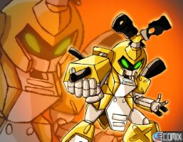 Medabots Wallpaper - Metabee by CrunchTheRobot