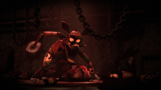 [SFM FNAF] Butcher Fox by AntiHacking5000