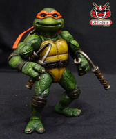 TMNT THE MOVIE 1990 REPAINT 16 by wongjoe82