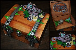 Amethyst Guardian Birthday Box by ApostacyArt