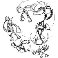 4 Min Pose sheets 01 by creon77