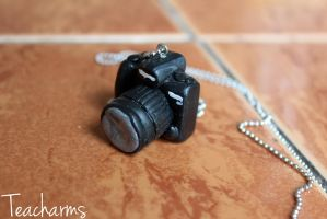 Canon DSLR necklace by Teacharms