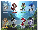 .: Adoptables ORE NightSprites | Open :. by iEatMudkipz