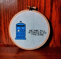 We Are All Stories in the End by Craftypodes