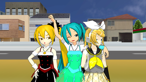 MMD Group Picture by Aura-Pika