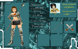 TH3 D33P Amazonia by Emi-Niwa