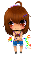 PC: Chibi Yumi by purpleprincessBLAH