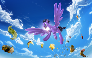 Fall Weather Flight, MLP:FIM OC commission by hakonmarcus