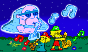 Night of the Jazz Legends by MarioSimpson1