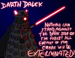 Darth Dalek Redux by RichardAHallett