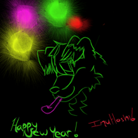 Happy New Year InuHoshi by Brightleaves