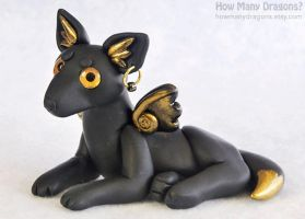 Kismet, the Flying Fox by HowManyDragons