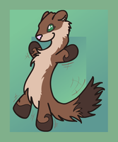 Weasel War Dancer Seath by Rawr-Grawr