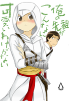 Assassin's creed Oreimo by W-Whitker