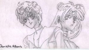 sailor scouts. series three by sailormercury100