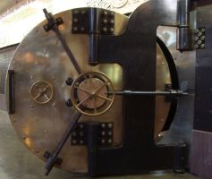 STLCM Bank Vault Door by M3-Productions