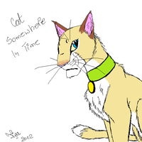 Cat Somewhere In Time by TigaLioness