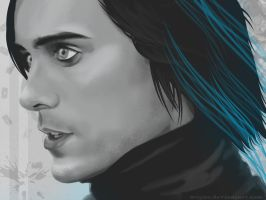 Jared Leto Blue by Wogue