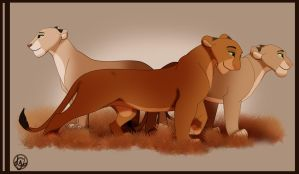 The Huntresses Of Lionesses by dyb