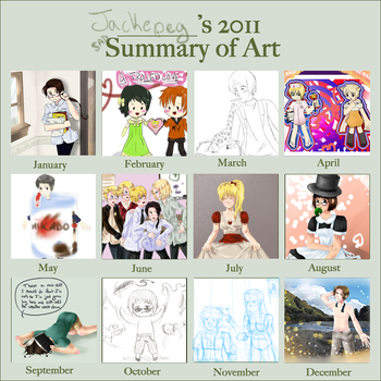 Summary of Art 2011 by Jackepeg