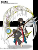 Scythe and Glass Moon by RagingChaosGod