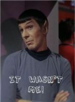 Spock IT WASN'T ME by THEJ0KES0nBATSY