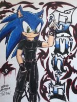 Sonic Rock Style by emichaca