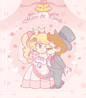 .:Will you be my player two?:. by ThePinkMarioPrincess