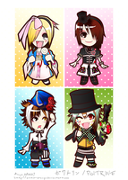 POITRINE chibi set by mister-orange