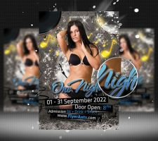 One Night Flyer Template by flashdo