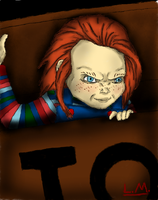 Curse of Chucky: Beloved doll gone bad by Laquyn