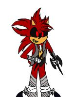 Redpheris.EXE sonic boom style by sonicbom10