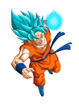 GOKU DIOS ATTACK by Supergoku37