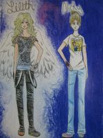 Lilith and Nicky... by LullaNonseSong