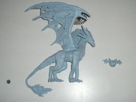 Blue-Tack Pharla again by MetaDragon0748