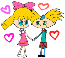 HA_Arnold_and_Helga by cokeloverfreak101