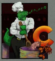 Chef Croc by JMarcDodsonJr